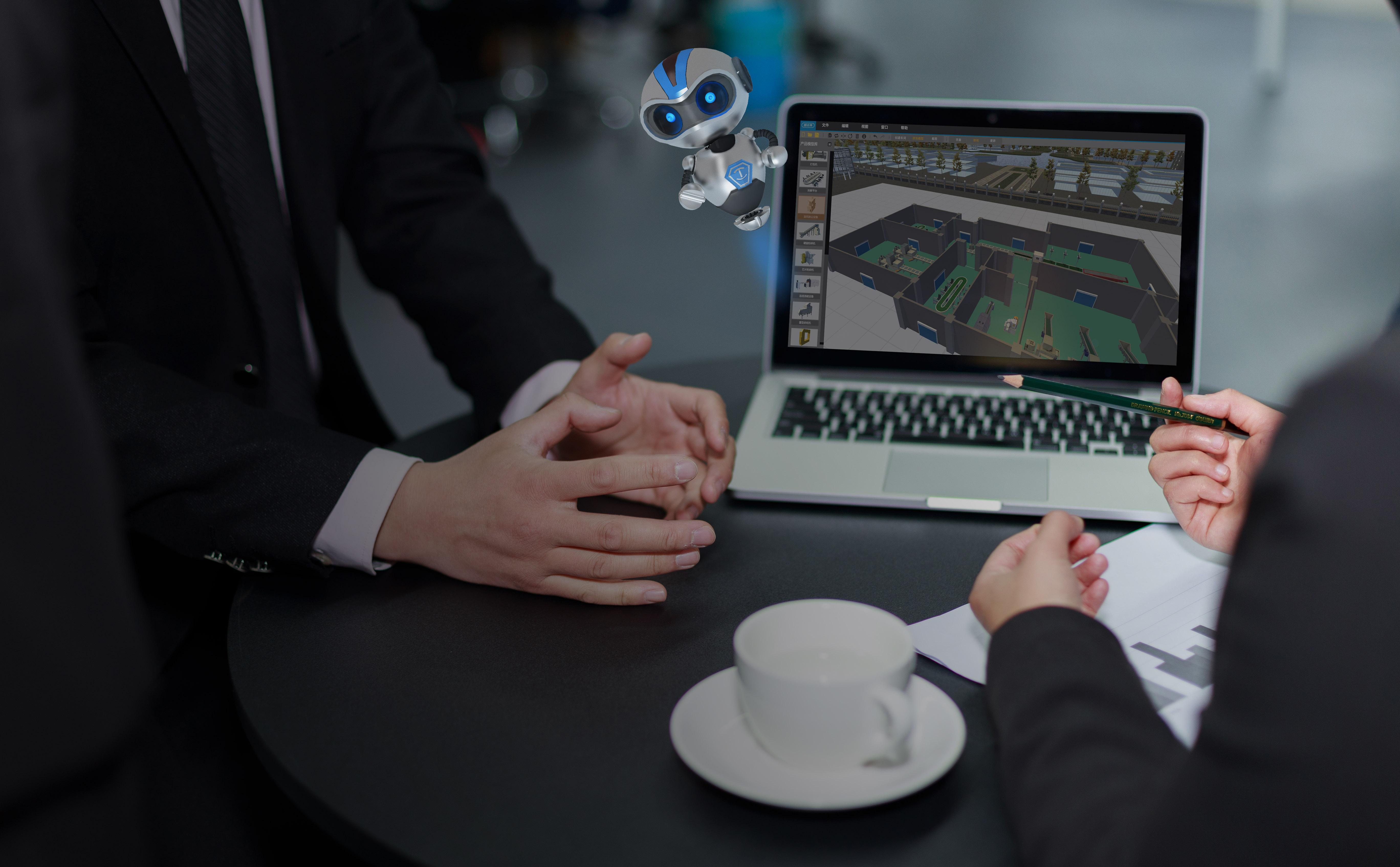 威小来VR可视化方案速成软件