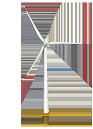 风力发电机交互展示